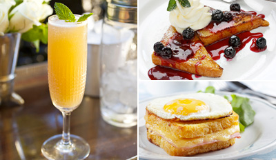 $19 - Parisian Brunch for 2 w/Mimosas, Reg. $48