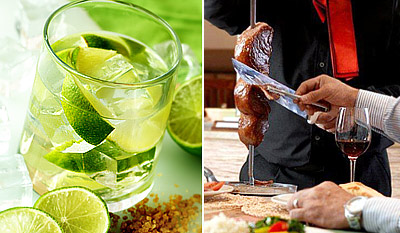 £39 -- Unlimited Brazilian BBQ for 2 inc Cocktails, Reg £74
